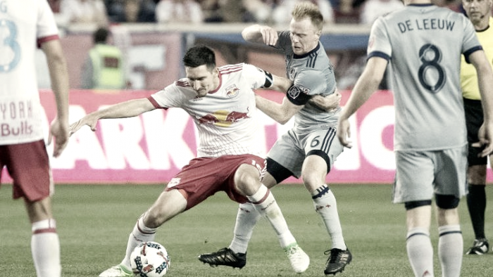 Chicago Fire to host New York Red Bulls in first round of MLS playoffs