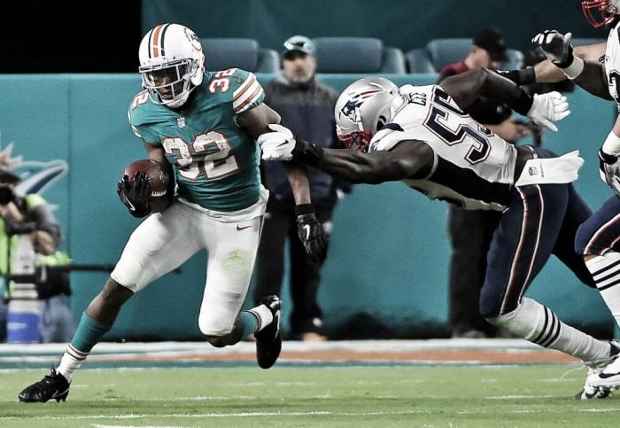 Miami acaba con la racha de los Patriots
