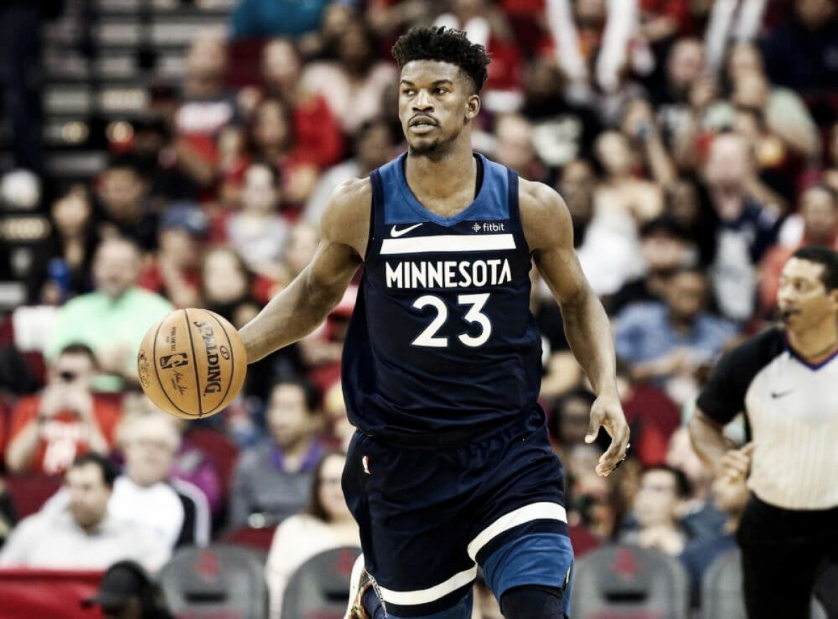 Jimmy Butler rejects four-year, $110-million extension from theMinnesota Timberwolves