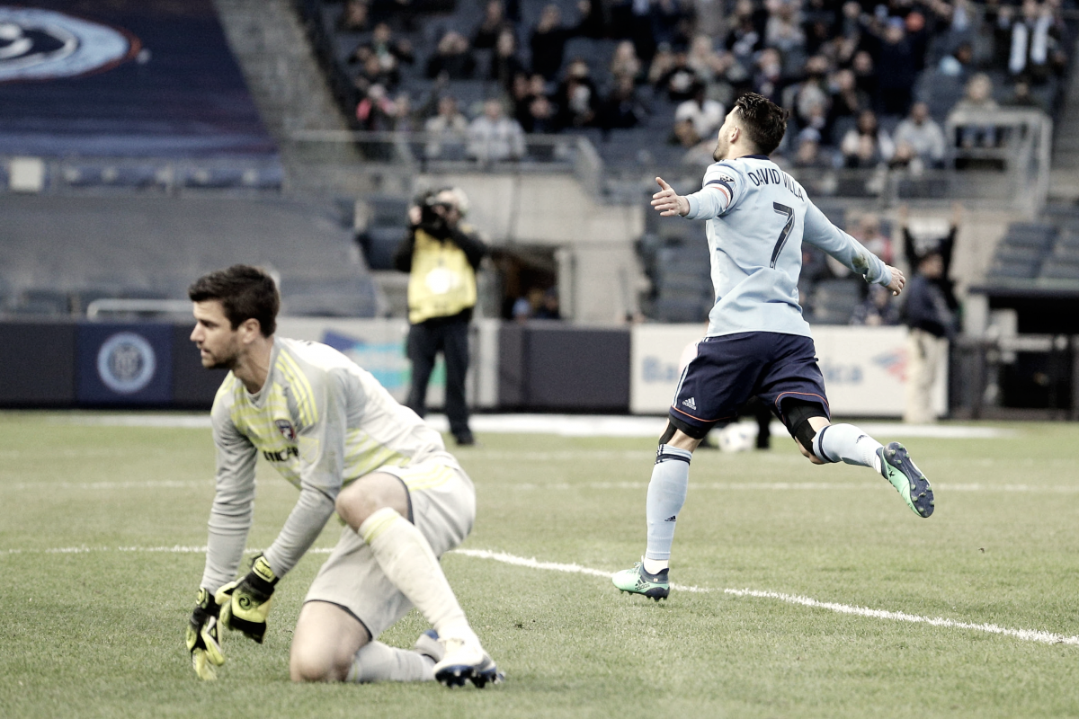 "David Villa on 400th goal: ""Perfect moment"""