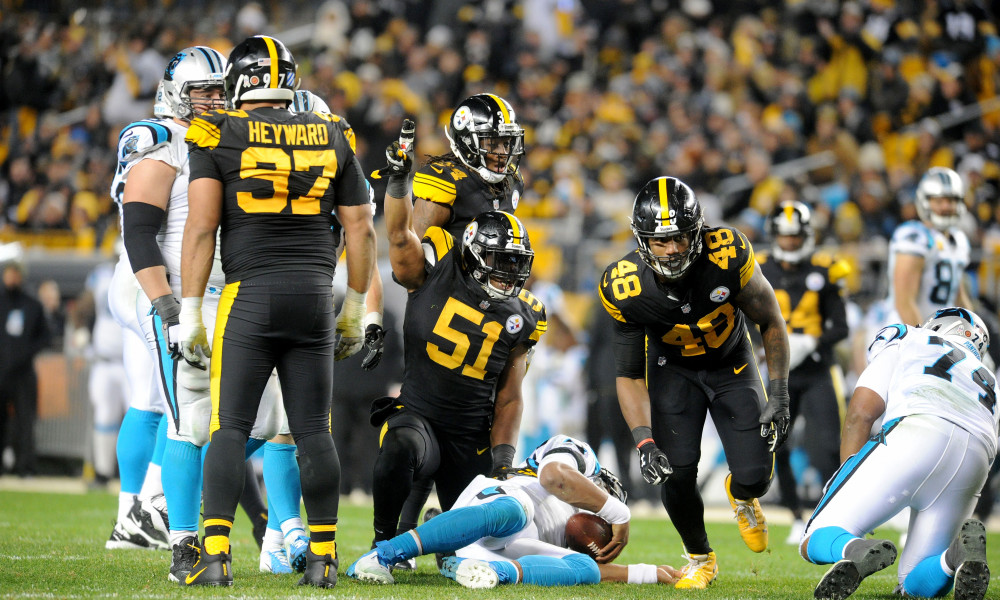 Pittsburgh Steelers blow away the Carolina Panthers