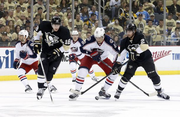 Stanley Cup Playoffs First Round: Columbus Blue Jackets vs. Pittsburgh Penguins, Game 1 - How It Happened