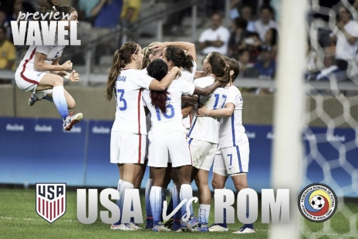 USWNT to face Romania on Thursday