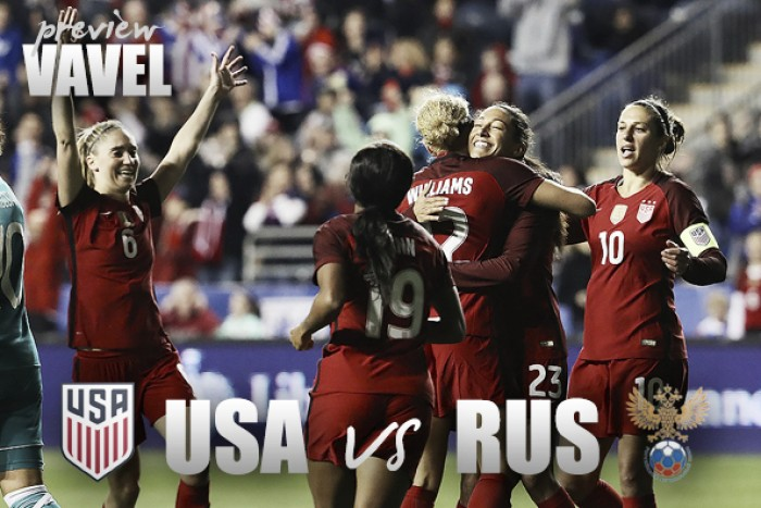 USWNT to take on Russia Thursday Night
