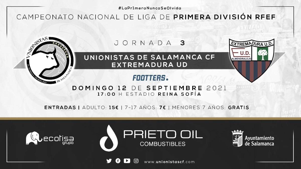 Previa Unionistas CF vs Extremadura UD: Unionistas quiere hacer un fortín del Reina Sofía