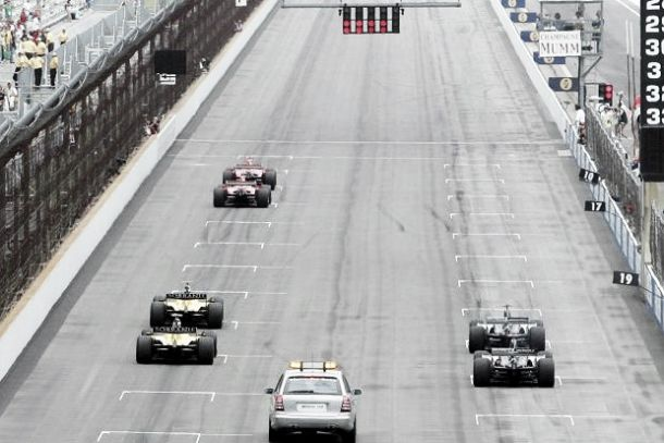 Ten years on: 2005 United States Grand Prix - politics, fights and the 'six car race'