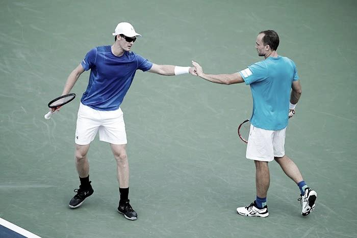 Duplas: Murray e Soares vencem fácil e André Sá elimina cabeças de chave no US Open