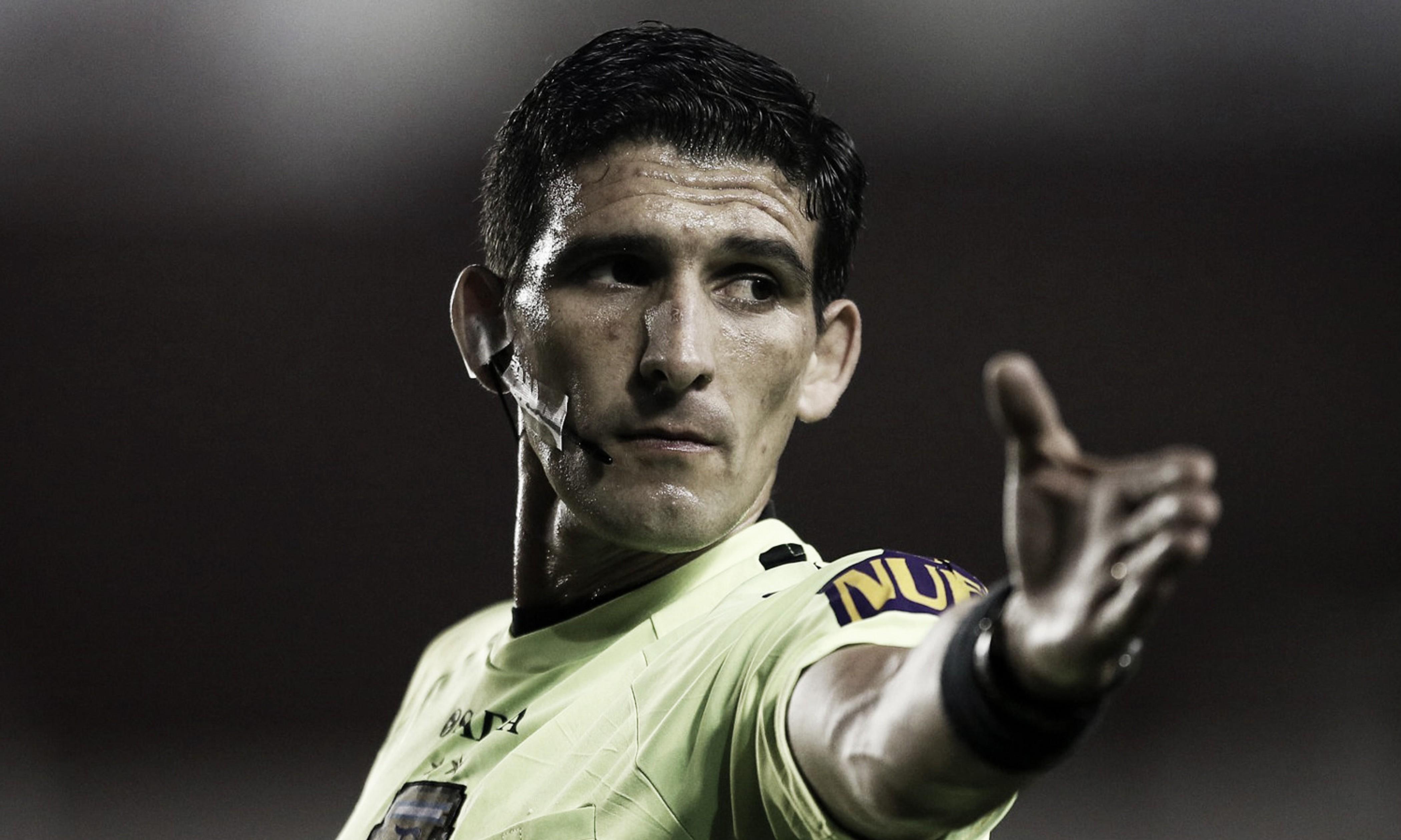 Andrés Merlos, un árbitro que le sienta bien a Argentinos