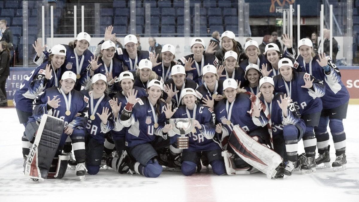 USA derrotó a Finlandia y ganó su quinto Mundial consecutivo femenino