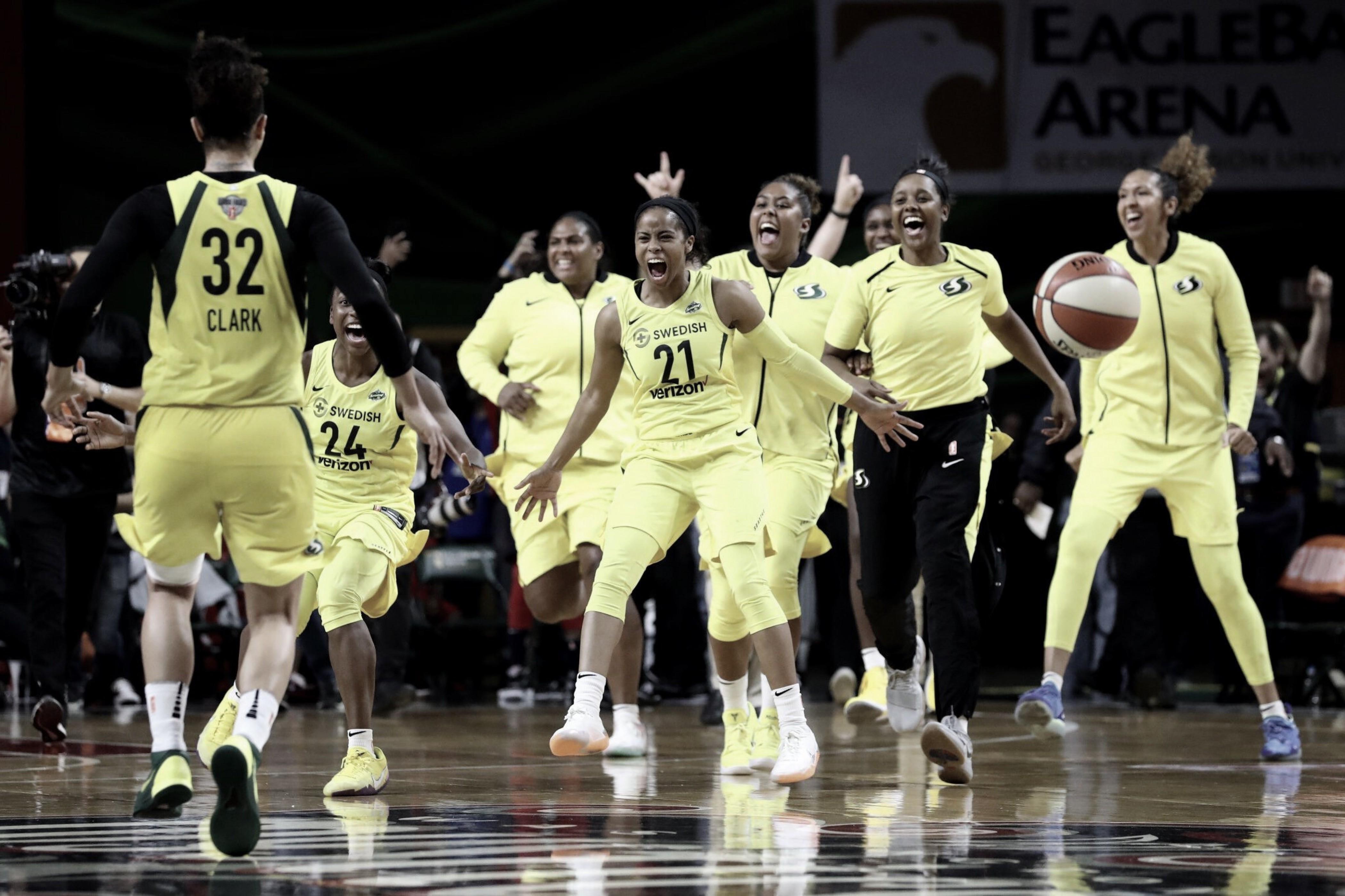 Seattle se corona en la WNBA tras victoria sobre Mystics