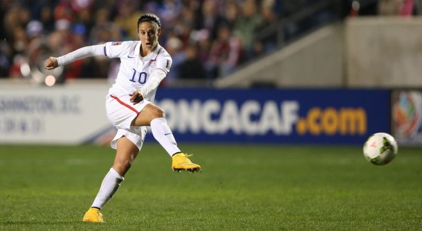 U.S Women Begin World Cup Prep With Huge Test In France