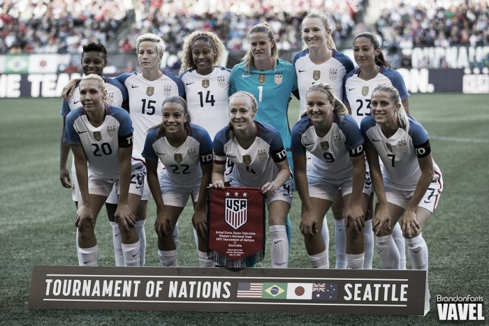 Jill Ellis names USWNT roster for October friendlies vs Korea Republic