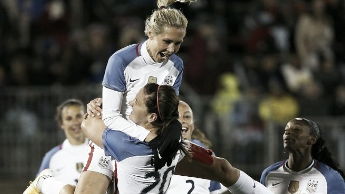 USWNT, Colombia Gear Up for Goal Fest Number Two
