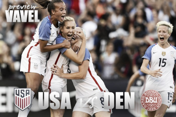 USWNT vs Denmark preview: a new year, a fresh start
