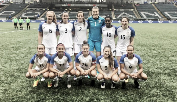 2017 Portland Invitational Recap: Houston Dash scored two late goals to take the win over the USWNT U-23