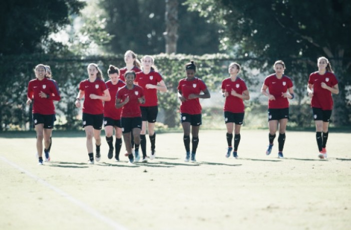 Jill Ellis names 25 players for 2017 She Believes Cup