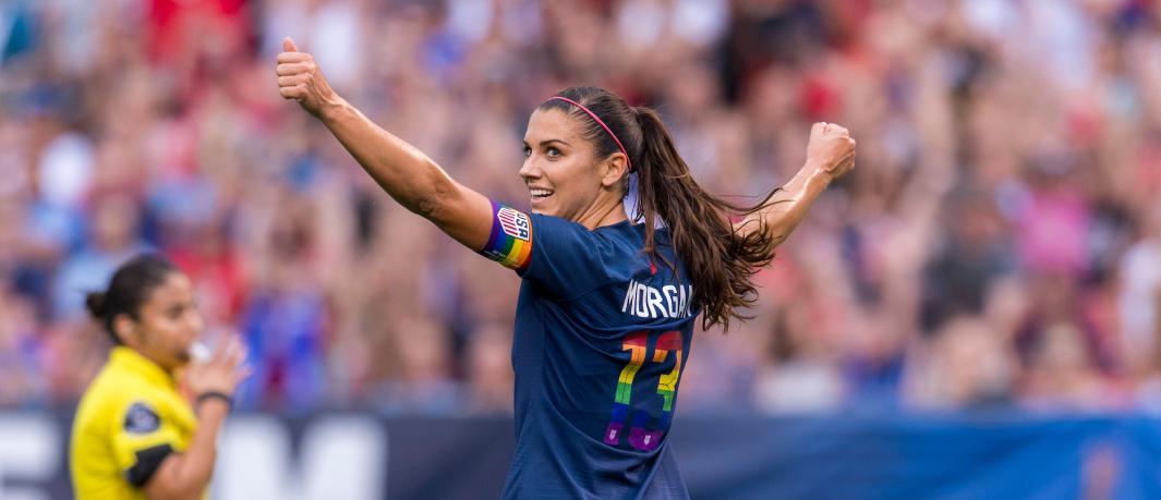 Alex Morgan named 2018 U.S. Soccer Female Player of the Year