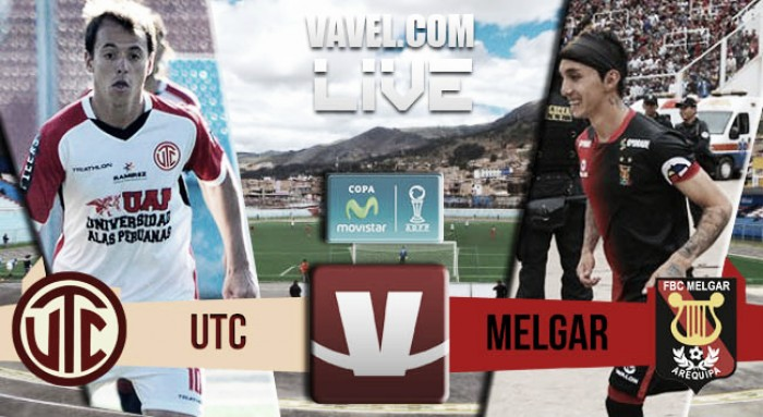 Resultado UTC vs Melgar en Torneo Apertura (1-3)