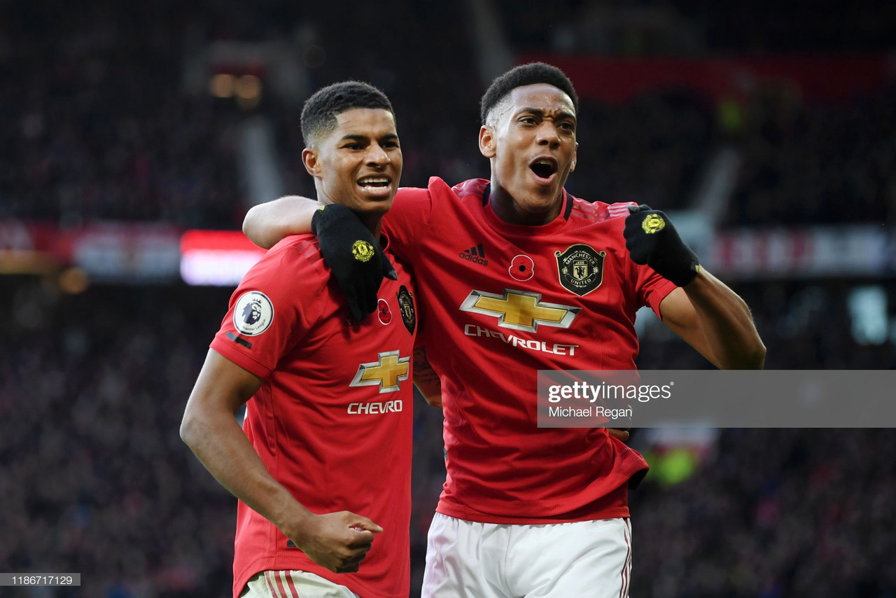 Manchester United 3-1 Brighton Hove Albion: Youthful Reds dominant at Old Trafford