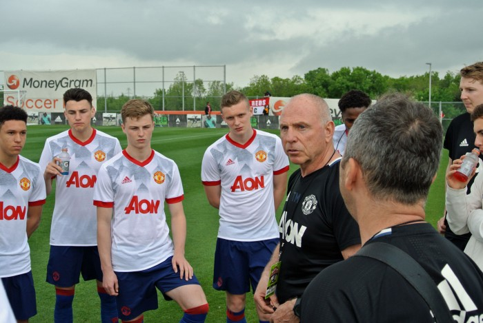 Man Utd U19 1-1 Coritiba U19: Dallas Cup disappointment for Reds