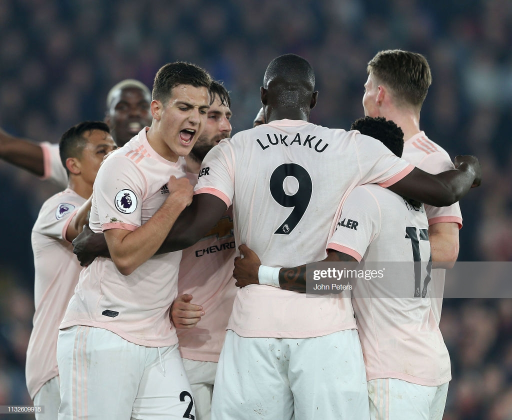 Crystal Palace 1-3 Manchester United: Resolute Reds manage a hard-fought victory in London