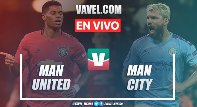 Manchester United vs Manchester City EN VIVO DIRECTO transmisión online en Copa Inglesa (0-0)