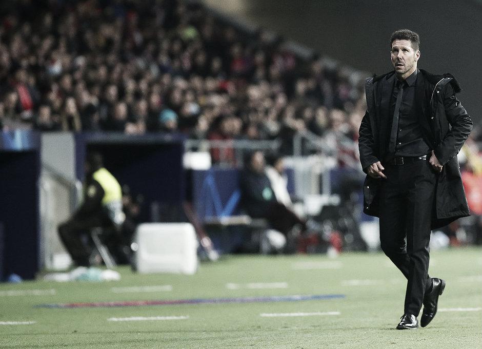 """Simeone: """"Cuando el estadio está, se siente"""""""