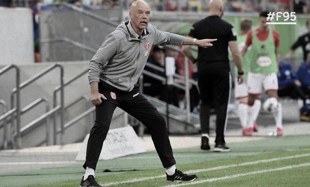 """Uwe Rösler rasga elogios ao Düsseldorf: """"Somos assustadoramente difíceis de se derrotar"""""""