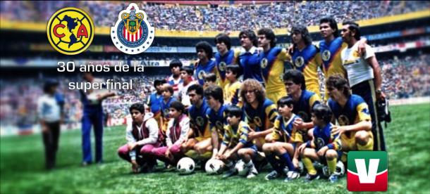 América - Chivas, a 30 años de la Súper Final