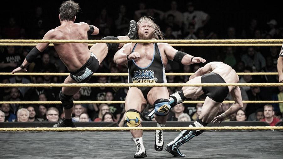 NXT 26 de Diciembre de 2018; Heavy Machinery se despide de NXT