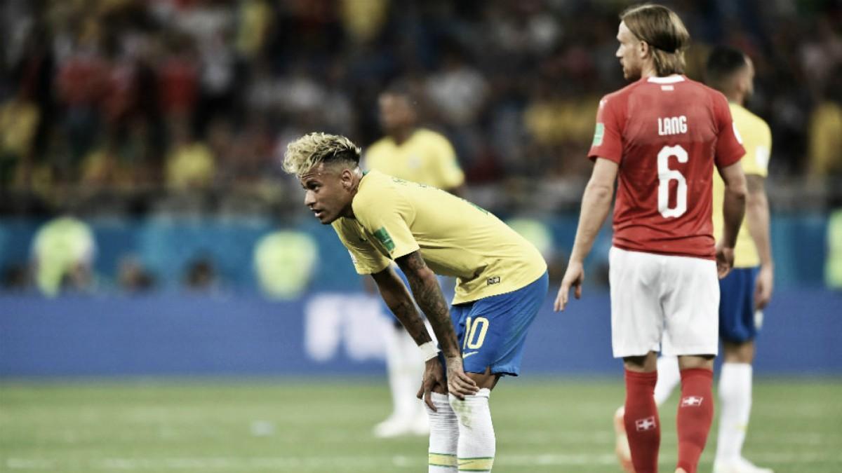 Los suizos cortaron a los pentacampeones en el debut