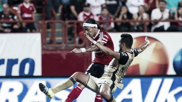 Dayro Moreno marcó en la derrota del Tijuana