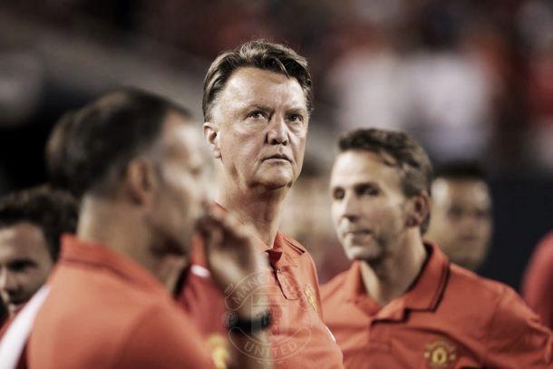 """Louis van Gaal: """"Vi muchas cosas positivas en mi equipo"""""""