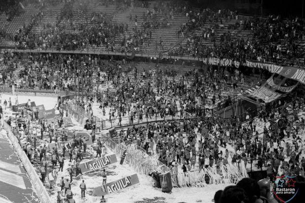 Seis fechas de sanción a la hinchada del Independiente Medellín