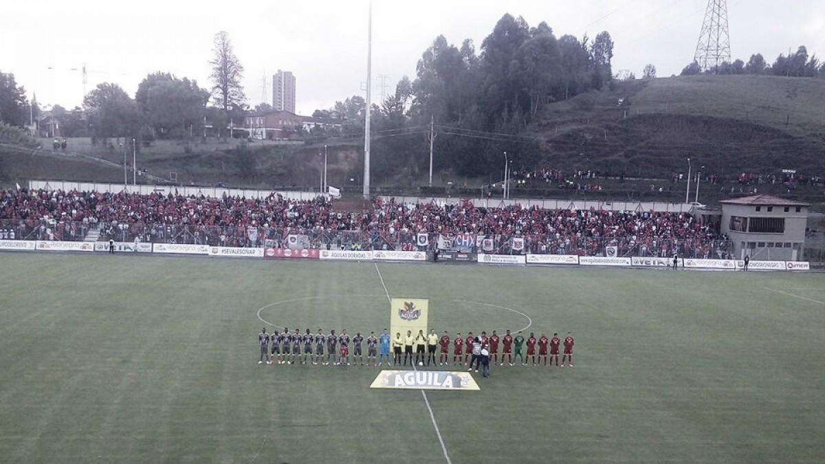 Rionegro acabó con el invicto del Medellín