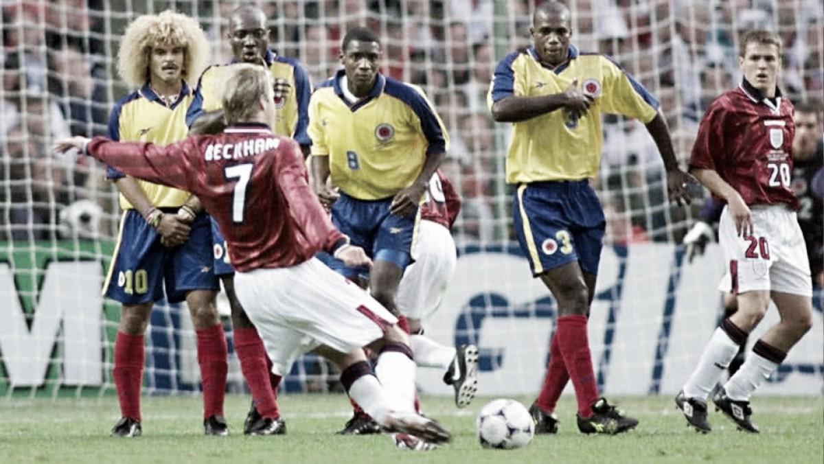 Colombia: participación en el Mundial de Francia 1998