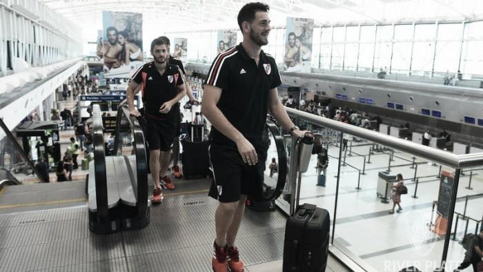 River emprendió su viaje a Medellín con 20 convocados