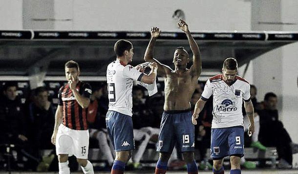 Sebastián Rincón marcó el empate de Tigre