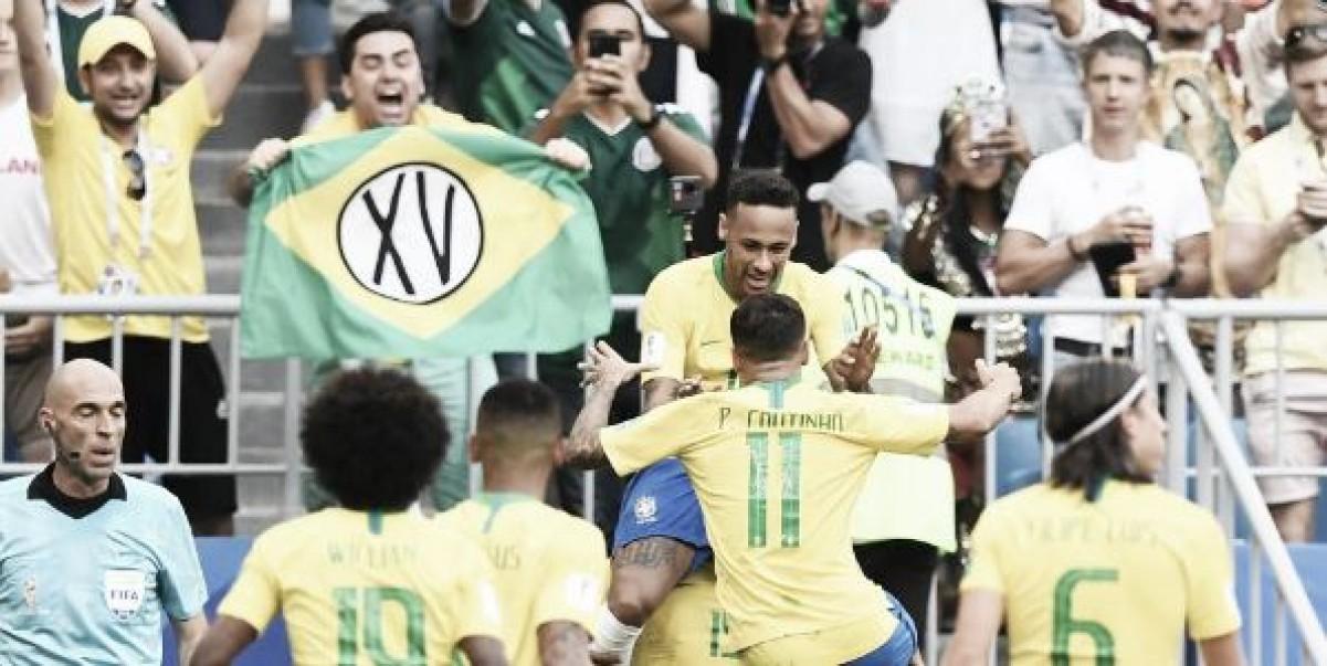 El Brasil de Neymar acabó con el sueño mexicano