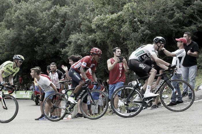 Vuelta 2016: Live 14^ tappa,Urdax-Dantxarinea / Aubisque - Gourette. Vince Gesink, Froome resiste a Quintana