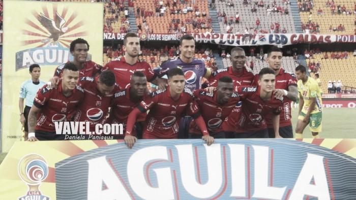 El Medellín no paso del empate contra Once Caldas en un partido de ida y vuelta