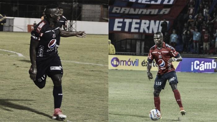 Édinson Toloza y Yulián Gómez llegaron a diez partidos en el Medellín