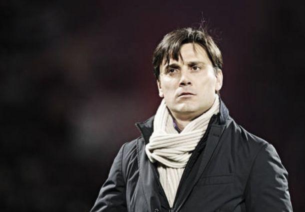 """Fiorentina, parla Montella: """"Orgoglioso di questo gruppo. Andremo a Milano per vincere"""""""