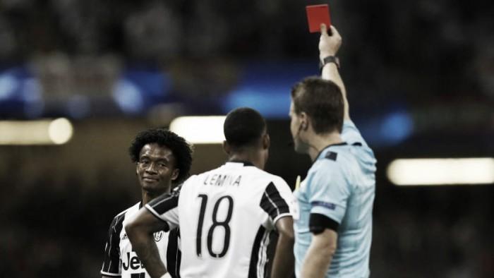 La final de la Champions League: James no fue ni al banco y Cuadrado salió expulsado