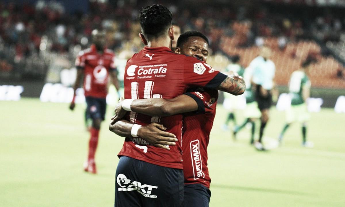 Medellín derrotó 0-2 a Leones