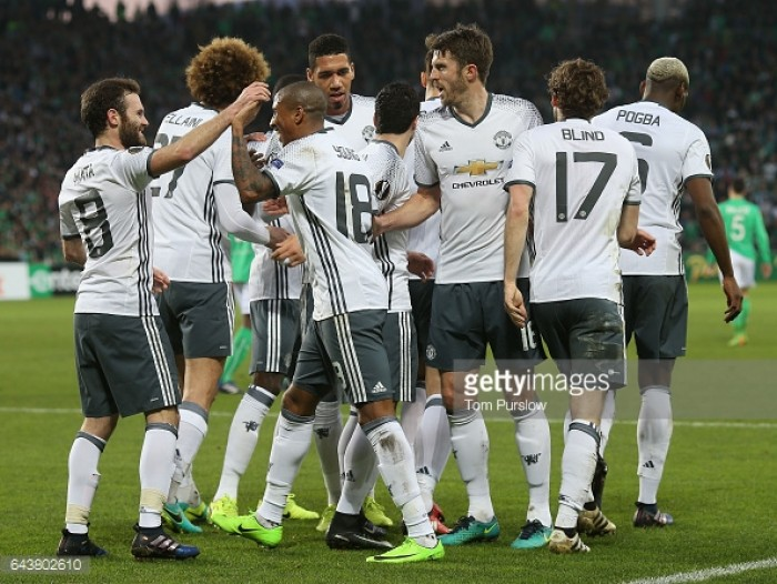 Manchester United handed FC Rostov tie in last 16 of the Europa League