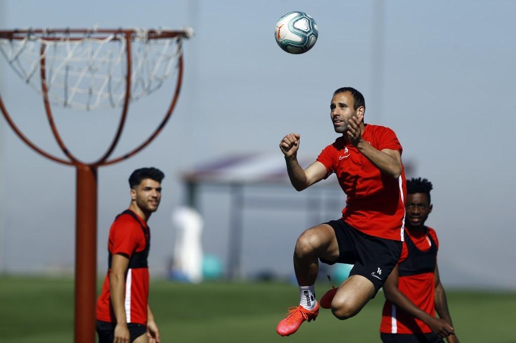 """Víctor Díaz: """"El equipo ha vuelto con mucho ánimo y con ganas"""""""