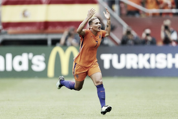 Holanda vence Noruega em partida de abertura da Eurocopa Feminina
