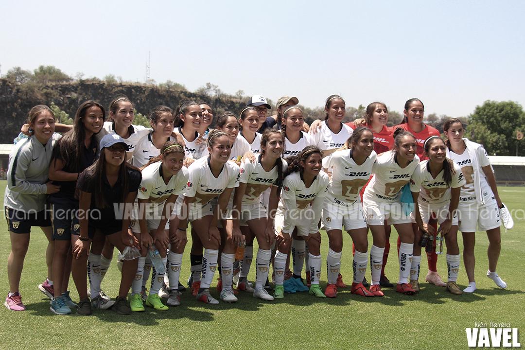 Fotos e Imágenes de Pumas Femenil 3-0 Cruz Azul Femenil en Clausura 2019
