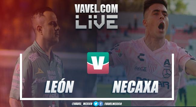 Resumen y goles del León 2-1 Necaxa de la Liga MX 2019